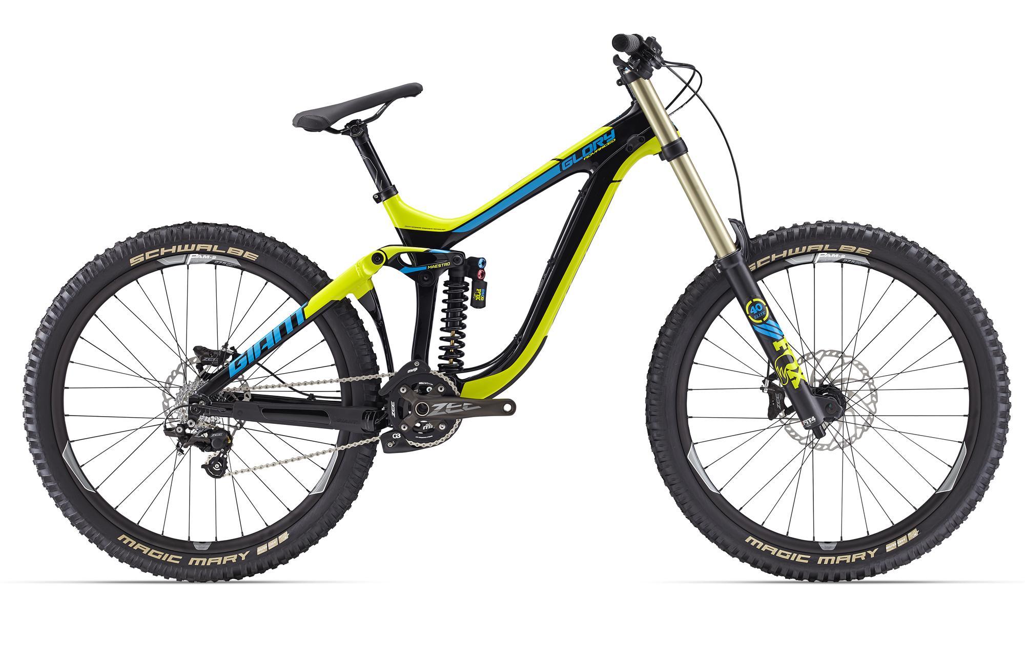 giant glory advanced 2016 downhill bike erh lt facelift. Black Bedroom Furniture Sets. Home Design Ideas