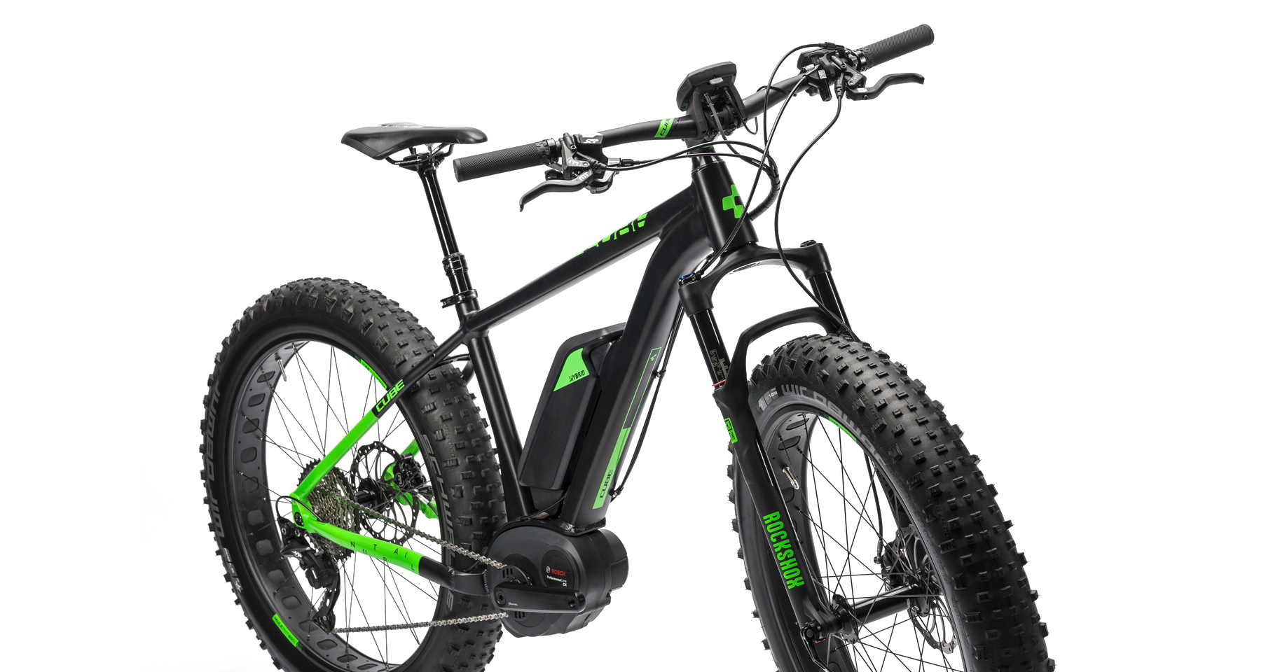 cube nutrail hybrid fatbike pedelec f r gel nde und stadt eurobike 2015. Black Bedroom Furniture Sets. Home Design Ideas