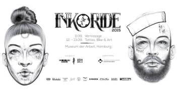 INK & RIDE 2015: Fusion-Event rund um Tattoos, Art & Bike in Hamburg