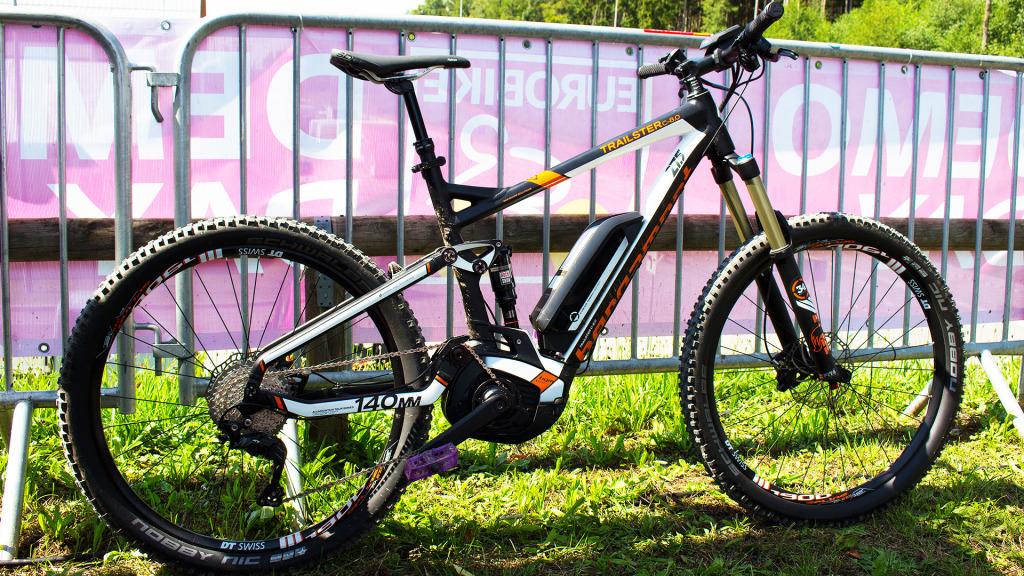 Bergamont Trailster C: Vollgefedertes E-Bike für den Trail | Eurobike 2015