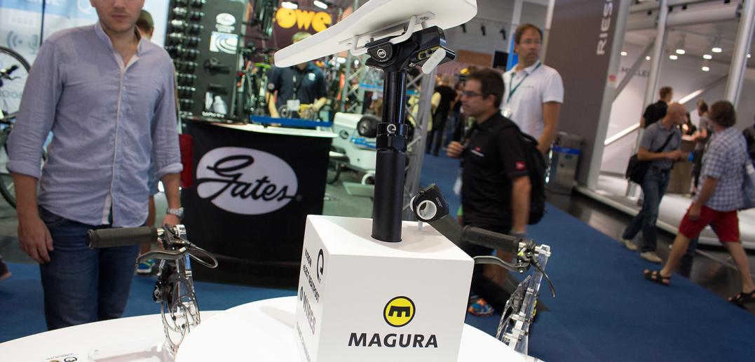 Magura Vyron eLECT: Elektrische Vario-Sattelstütze als Weltneuheit | Eurobike 2015