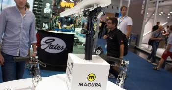 Magura Vyron eLECT: Elektrische Vario-Sattelstütze als Weltneuheit   Eurobike 2015