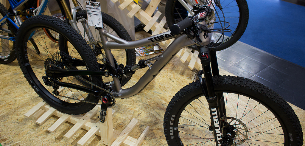 Alutech Tofane 2016: Trailbike ab sofort auch in 27,5+| Eurobike 2015