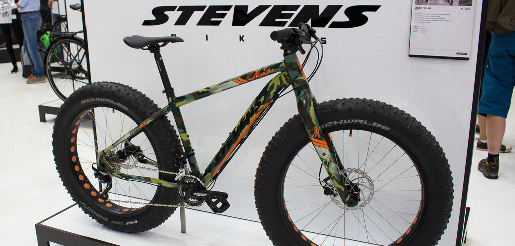Stevens Mobster XL: Fatbike mit 4,8-Zoll-Reifen | Eurobike 2015
