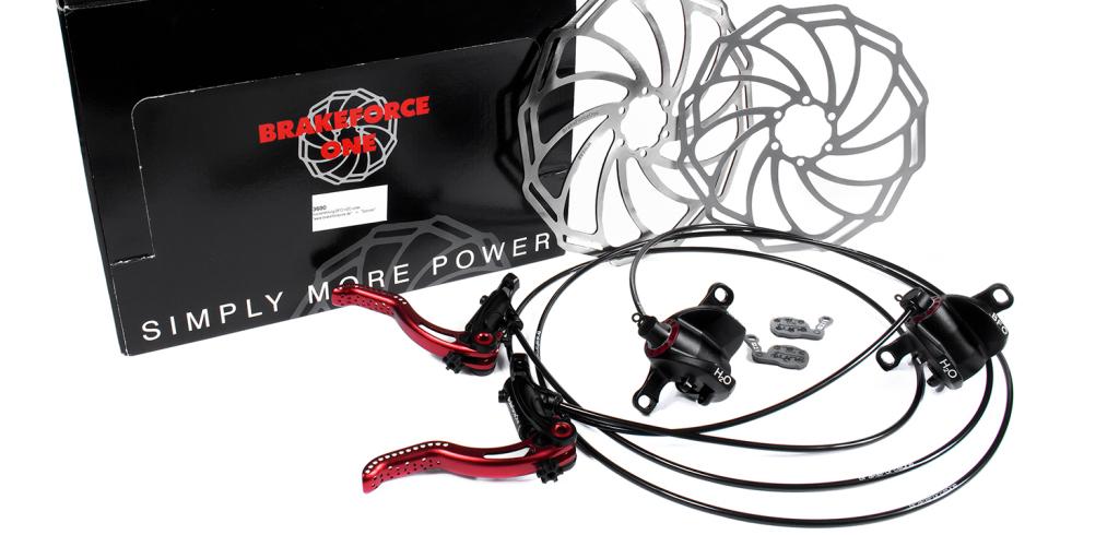 Weihnachtsgewinnspiel #Finale: Brake Force One H2O Bremsen-Set