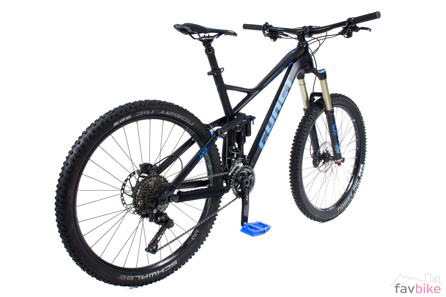 ghost sl amr x 7 all mountain bike im test. Black Bedroom Furniture Sets. Home Design Ideas