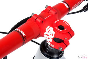 Answer Red Mist: ProTaper Carbon SL, Rove R2, ATAC AME und Griffe im Test
