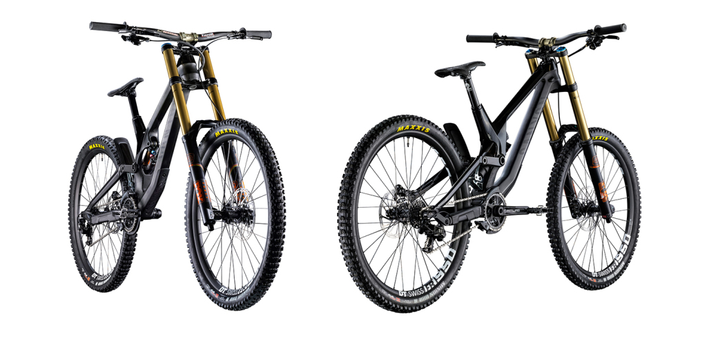 Canyon Sender CF: Carbon-Downhill-Bike mit MX-Link und TPS-System