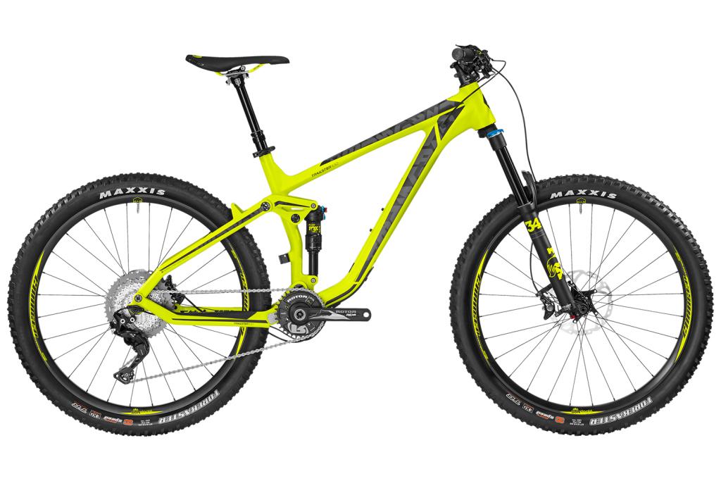 Bergamont Trailster MGN: All-Mountain mit Carbon-Rahmen und Top-Ausstattung [Eurobike 2016]