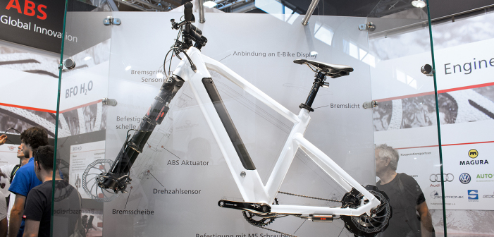 BFO E-Bike ABS: Mehr Sicherheit für Pedelecs [Eurobike 2016]