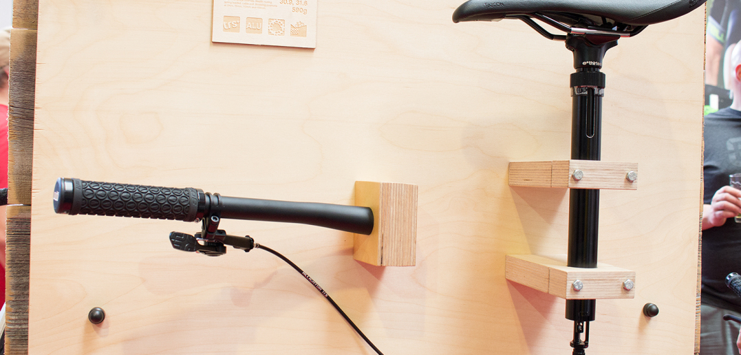 Ethirteen TRS Plus Dropper Post: Vollmechanische Vario-Sattelstütze mit Metallfeder [Eurobike 2016]