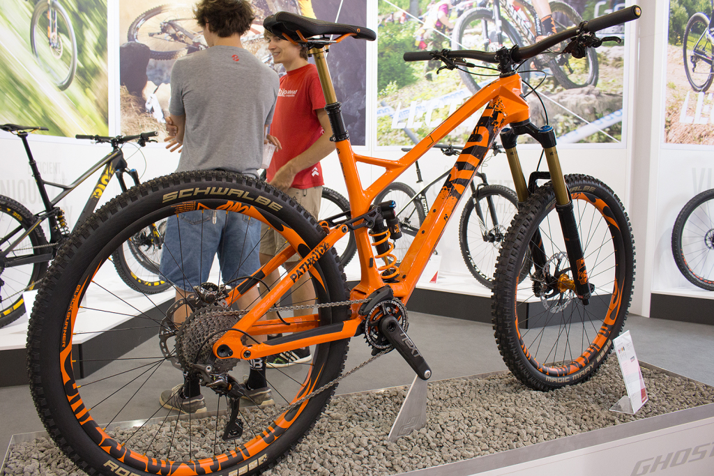 Ghost Pathriot 2017: Kompromissloses High-End-Enduro für Racer [Eurobike 2016]