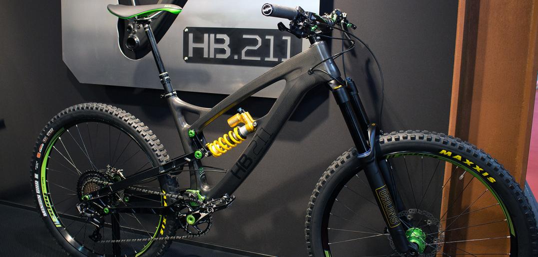 "Hope HB 211: Neuster Prototyp des Carbon-Enduros ""Made in UK"" [Eurobike 2016]"