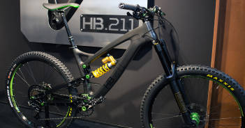 "Hope HB 211: Neuster Prototyp des Carbon-Enduros ""Made in UK"" [Eurobike 2016]"