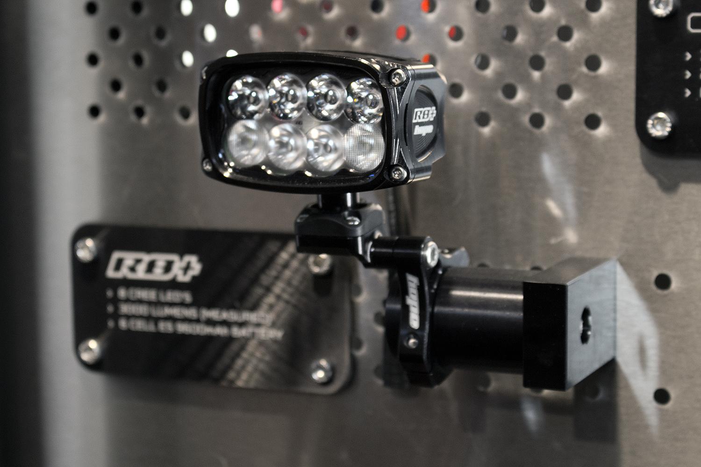 hope vision r8 led mtb lampe mit lumen eurobike 2016. Black Bedroom Furniture Sets. Home Design Ideas