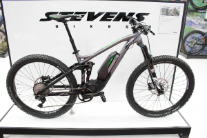 Stevens E-Whaka+ 2017: E-MTB mit Plus-Bereifung und Shimano Steps E8000 [Eurobike 2016]