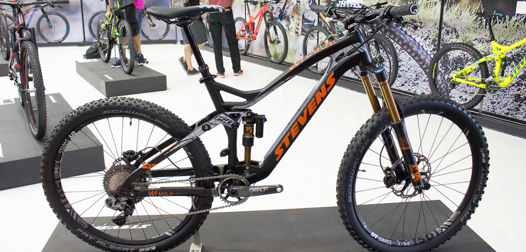 Stevens Whaka Carbon: Leichtes All-Mountain mit Enduro-Genen [Eurobike 2016]