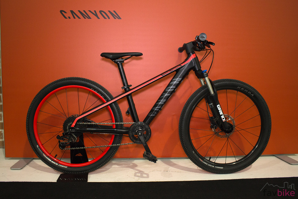 Canyon Young Heroes: Kinder-MTBs Offspring AL 16 & 20 sowie Grand Canyon AL 24 [BFS 2017]