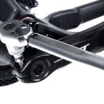 Kurbel einbauen: Installation der Shimano FC-M8000 [Anleitung]