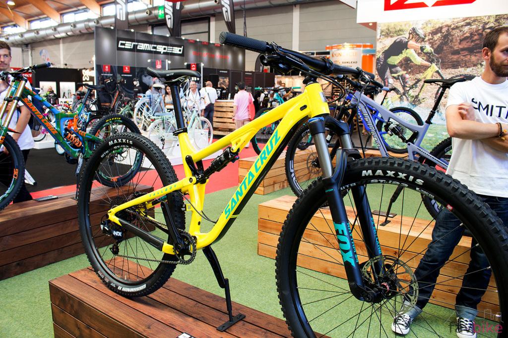 Santa Cruz Tallboy Alu: Günstige Version des 29er-Trailbikes für 2017