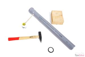 Gabelkonus aufschlagen: Montage ganz ohne Spezialwerkzeug [Anleitung]