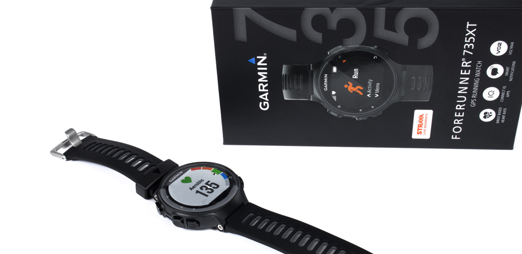 Garmin Forerunner 735XT: Wasserdichte GPS-Multisportuhr mit Puls-Messer im Test