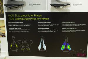 Ergon SM Women: Frauen-spezifischer MTB-Sattel mit hohem Komfort [Eurobike 2017]