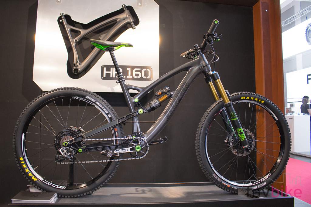 Hope HB160: Finale Version des High-End-Enduros mit Carbon-Rahmen [Eurobike 2017]