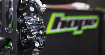 Hope V6 Ti: Brachiale Bremse mit sechs Kolben [Eurobike 2017]