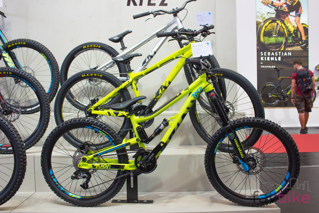 Bergamont Big Air Tyro 24 2018: Freerider für Kinder [Eurobike 2017]