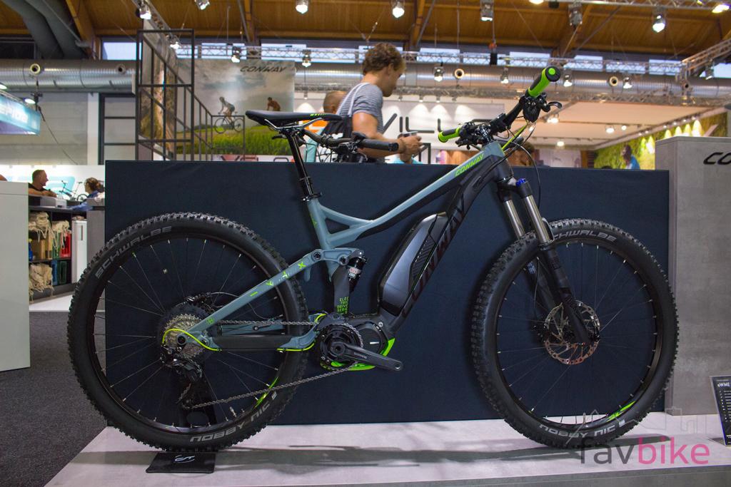 Conway eWME 427 & 327: Trailbikes mit Shimano-Steps-Motor [Eurobike 2017]