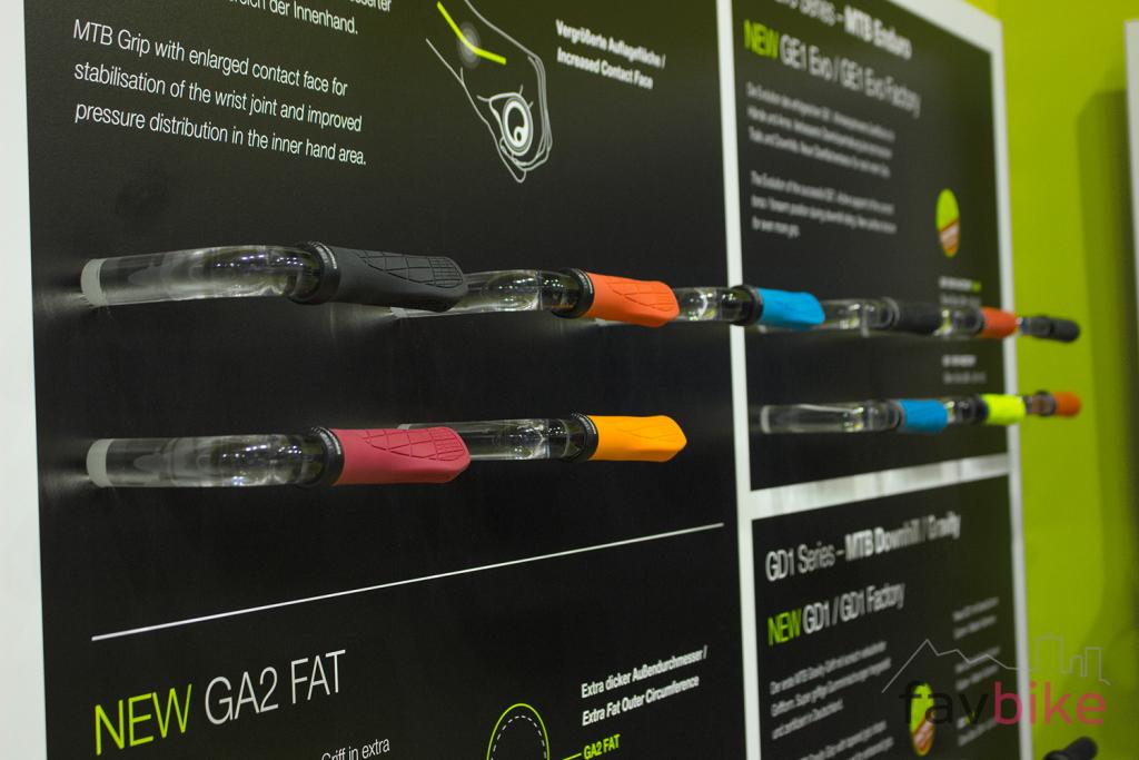 Ergon GA3: Ergonomischer Griff für Mountainbiker [Eurobike 2017]