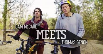 Cam McCaul meets Thomas Genon!
