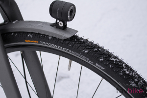 Continental Top Contact Winter II Premium: Winterrreifen fürs Fahrrad [Test]