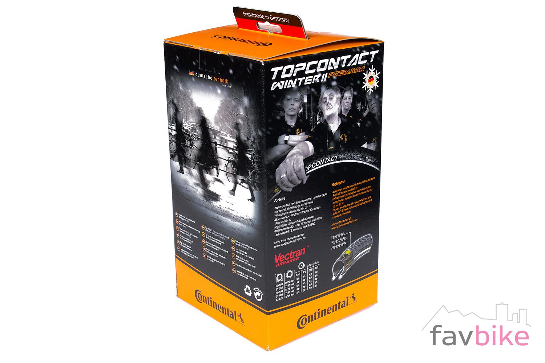 continental top contact winter ii premium fahrradreifen. Black Bedroom Furniture Sets. Home Design Ideas