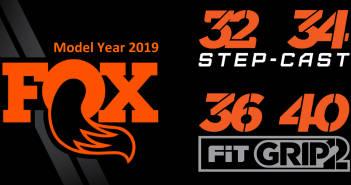Fox Forks 2019: Neue FIT-GRIP2-Dämpfung, Step-Cast-Option und DH-Gabel in 29 Zoll