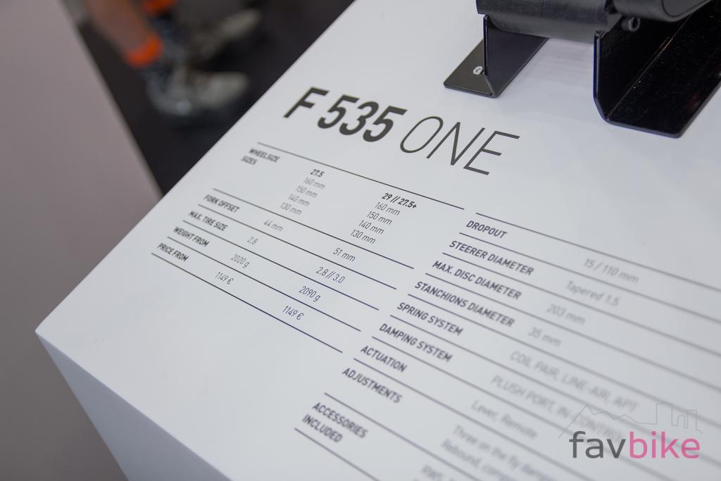 DT Swiss F 535 One: Allmountain-Federgabel mit fortschrittlichen Features [Eurobike 2018]