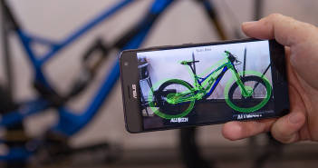 Alutech Fanes 6.0: NFC und AR erstmals im MTB-Segment [Eurobike 2018]