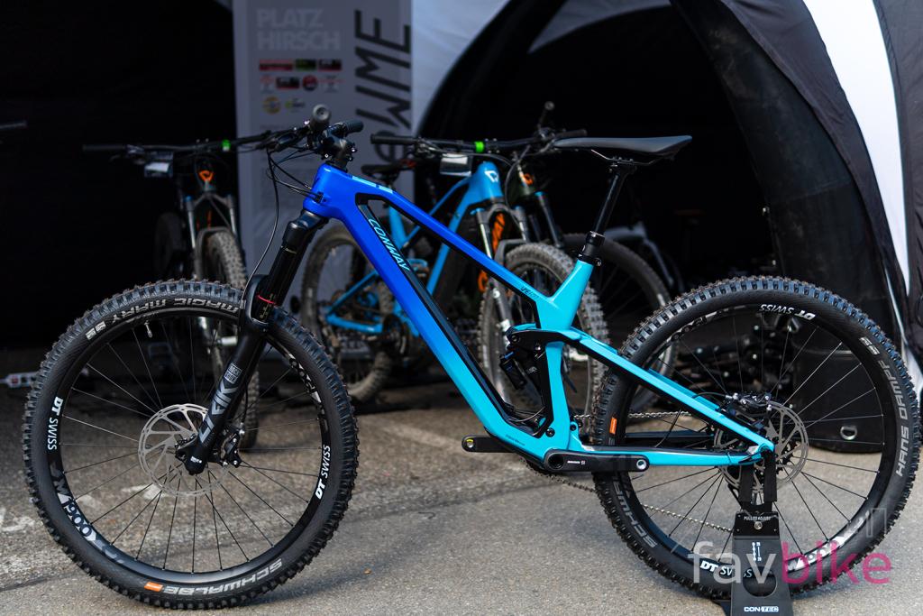 Conway WME 2020: Neues Voll-Carbon-Enduro mit 27,5- und 29-Zoll-Laufrädern [Eurobike 2019]