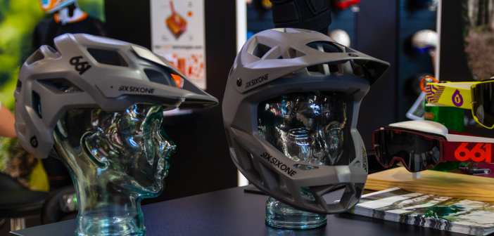 SixSixOne Helm-Prototypen: Halo und Pinnacle für Enduro- und Trail-Biker [Eurobike 2019]