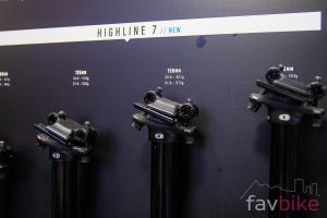Crankbrothers Highline 3 & 7: Verbesserte Variosattelstützen in unterschiedlichen Varianten [Eurobike 2019]