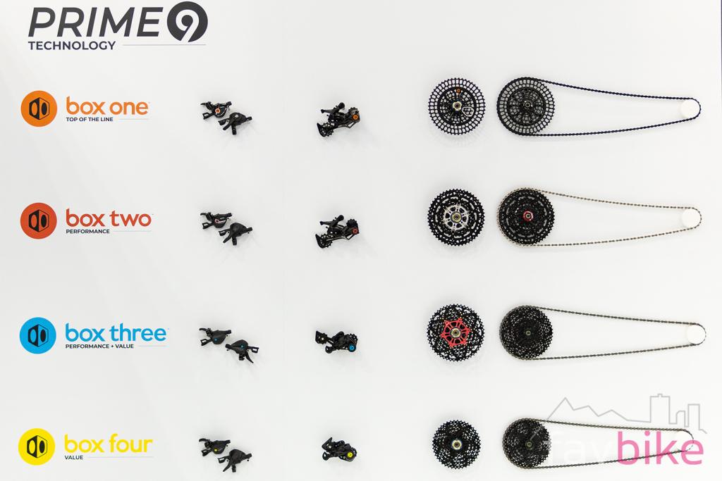 Box Prime 9: 9-fach-MTB-Antrieb mit großer Bandbreite [Eurobike 2019]