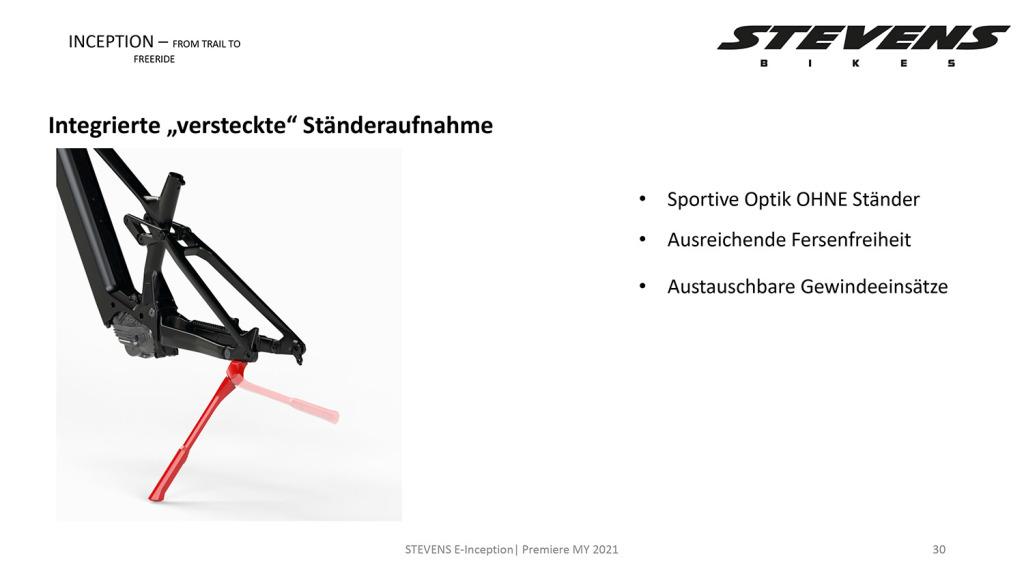 Stevens E-Inception 2021: eMTB-Lineup mit Shimano EP8 für Trail bis Freeride [Stevens Hausmesse]
