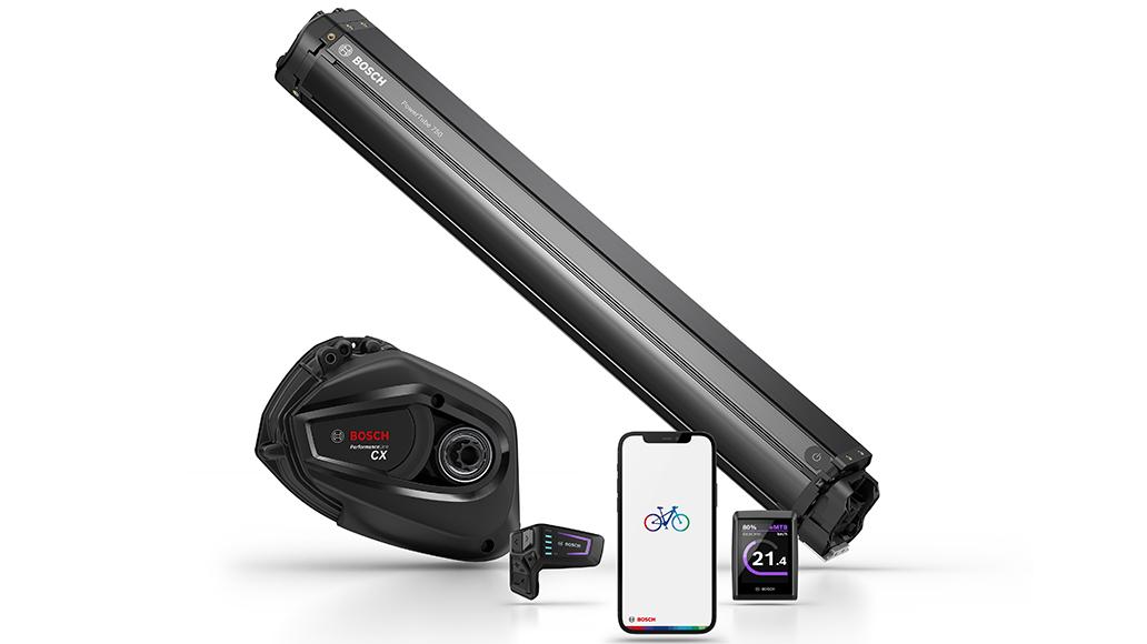 Bosch 2022: Neue Smartphone-App, 750-Wattsunden-Akku und Kiox-Display-Update